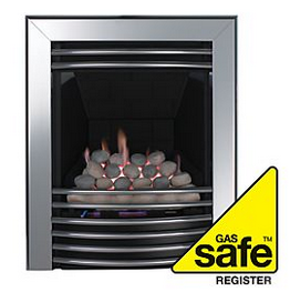 Gas appliances must be checked by a Gas Safe Engineer